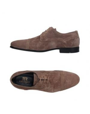 Обувь на шнурках FABIANO RICCI. Цвет: хаки