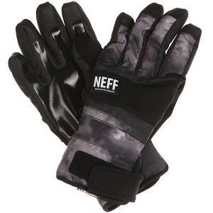 Перчатки сноубордические  Digger Glove Black/Crystal Neff. Цвет: черный,серый
