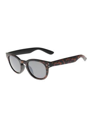 Солнцезащитные очки Gusachi. Цвет: черный, оранжевый, серый