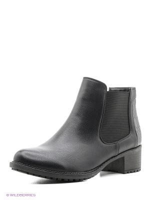 Ботинки Wilmar. Цвет: черный, темно-серый