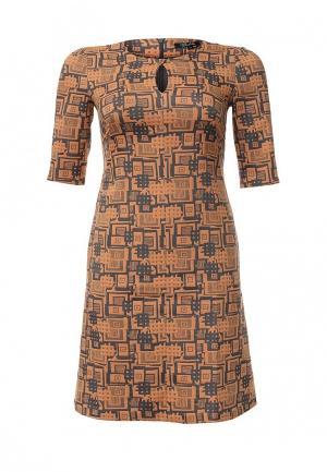 Платье Borboleta. Цвет: оранжевый