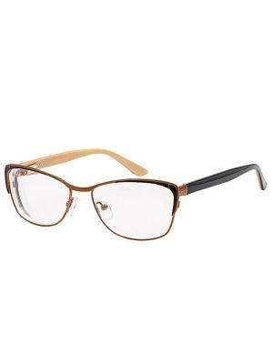Очки -3,0/G1358-C4 Grand. Цвет: коричневый, золотистый