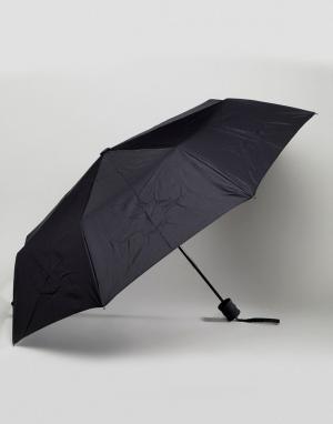 Peter Werth Черный зонт. Цвет: черный