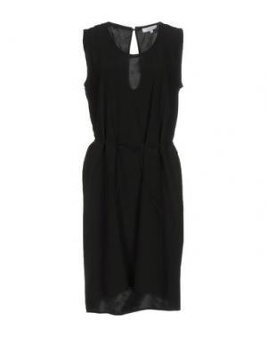 Короткое платье SECOND FEMALE. Цвет: черный