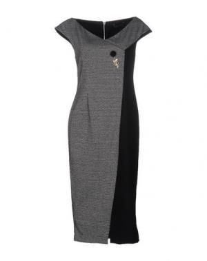 Платье до колена NORA BARTH. Цвет: черный