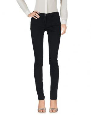 Повседневные брюки 3x1. Цвет: черный