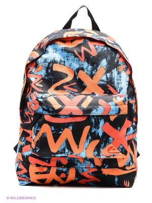 Рюкзак Quiksilver. Цвет: оранжевый, черный