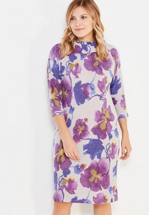 Платье Olsi. Цвет: разноцветный