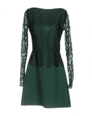 Короткое платье RHEA COSTA. Цвет: зеленый
