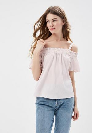 Блуза Noisy May. Цвет: розовый