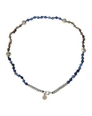 Ожерелье ELEVENTY. Цвет: синий