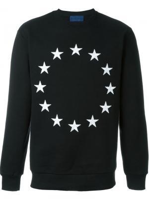 Толстовка Crew Europa Études. Цвет: чёрный