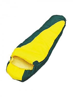 Мешок спальный solo 250, кокон Чайка. Цвет: зеленый, желтый
