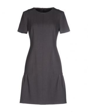 Короткое платье NVL__NUVOLA. Цвет: свинцово-серый