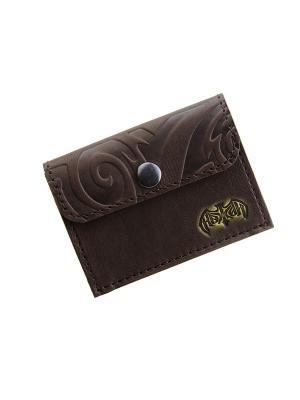 Монетница Кажан. Цвет: коричневый