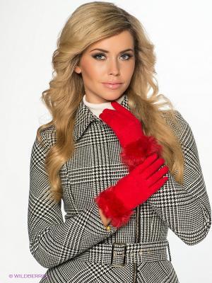 Перчатки Sabellino. Цвет: красный