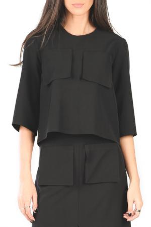 Блуза Joins. Цвет: черный