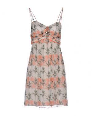 Короткое платье KOOKAI. Цвет: бежевый