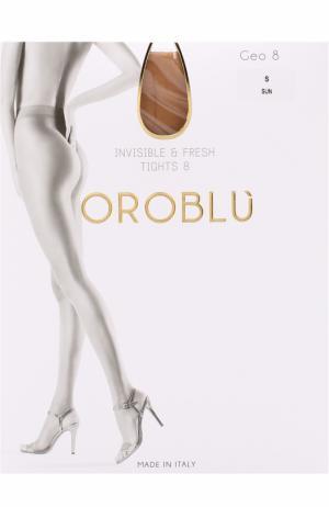 Капроновые колготки Oroblu. Цвет: бежевый