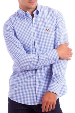 Рубашка POLO CLUB С.H.A.. Цвет: light blue