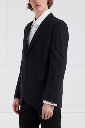 Шерстяной пиджак Libertine. Цвет: серый