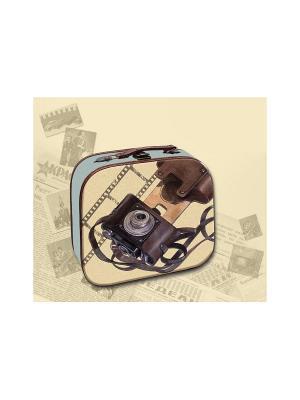 Декоративная шкатулка Фотоаппарат Magic Home. Цвет: бежевый