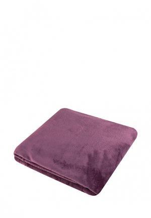 Плед El Casa. Цвет: фиолетовый