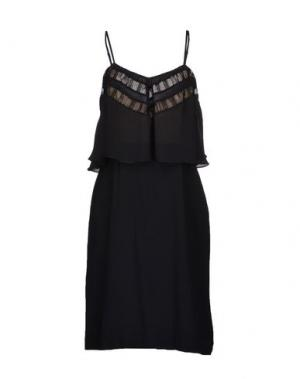 Платье до колена TOCCA. Цвет: черный