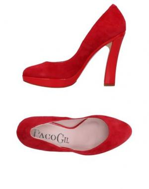 Туфли PACO GIL. Цвет: красный