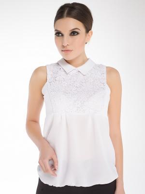 Блузка Arefeva. Цвет: белый