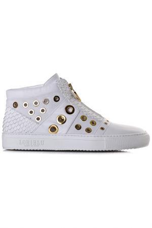 Ботинки Loriblu. Цвет: белый