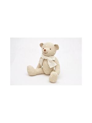 Медвежонок Кубеба KUBEBA. Цвет: бежевый, белый