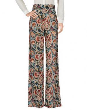 Повседневные брюки FEMME. Цвет: черный