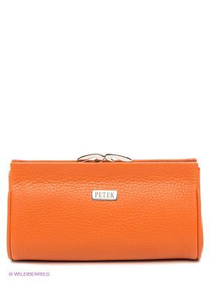 Косметичка Petek. Цвет: оранжевый