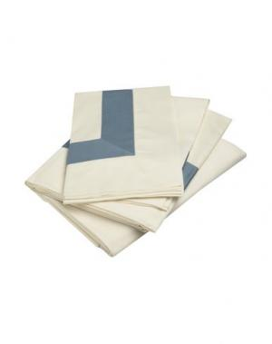 Гарнитура постельного белья FRETTE. Цвет: грифельно-синий