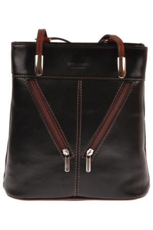 Сумка FLORENCE BAGS. Цвет: black, brown