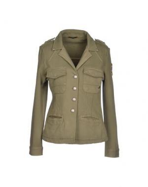 Пиджак RA-RE. Цвет: зеленый-милитари
