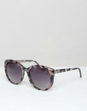 Somedays Солнцезащитные очки кошачий глаз Lovin. Цвет: коричневый