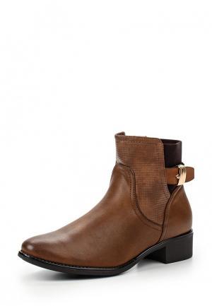 Ботинки Weide. Цвет: коричневый