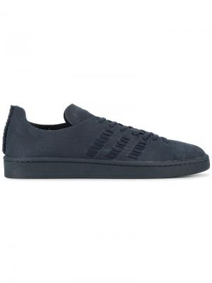 Кеды на шнуровке Campus Adidas X Wings + Horns. Цвет: синий