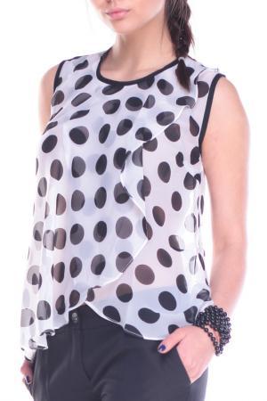 Блуза REBECCA TATTI. Цвет: в горох