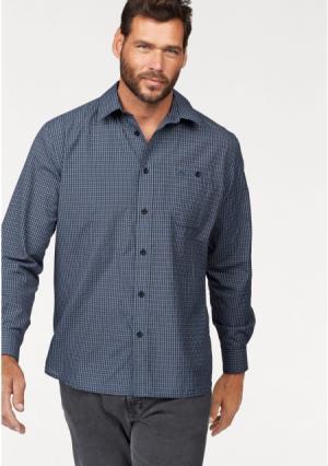 Рубашка MANS WORLD MAN'S. Цвет: синий/белый/черный в клетку