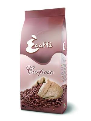 Кофе в зернах Corposo 1кг ECAFFE CAFFITALY. Цвет: бежевый