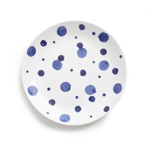 Комплект из 4 мелких тарелок керамики Alaka AM.PM.. Цвет: синий/ белый