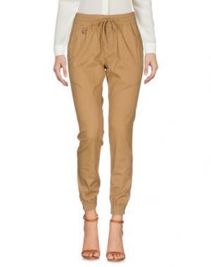 Повседневные брюки PUBLISH. Цвет: верблюжий