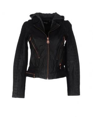Куртка DOMA. Цвет: черный