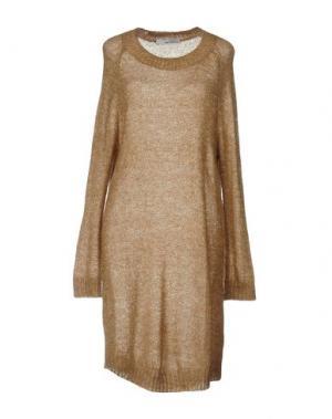 Короткое платье CHILI PEPPERS. Цвет: хаки