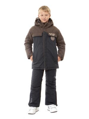 Куртка VELFI. Цвет: темно-синий