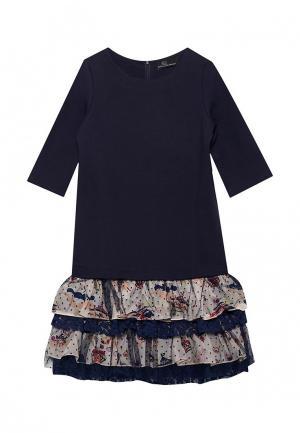 Платье DanMaralex. Цвет: синий