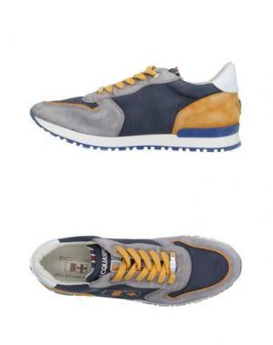 Низкие кеды и кроссовки D'ACQUASPARTA. Цвет: грифельно-синий